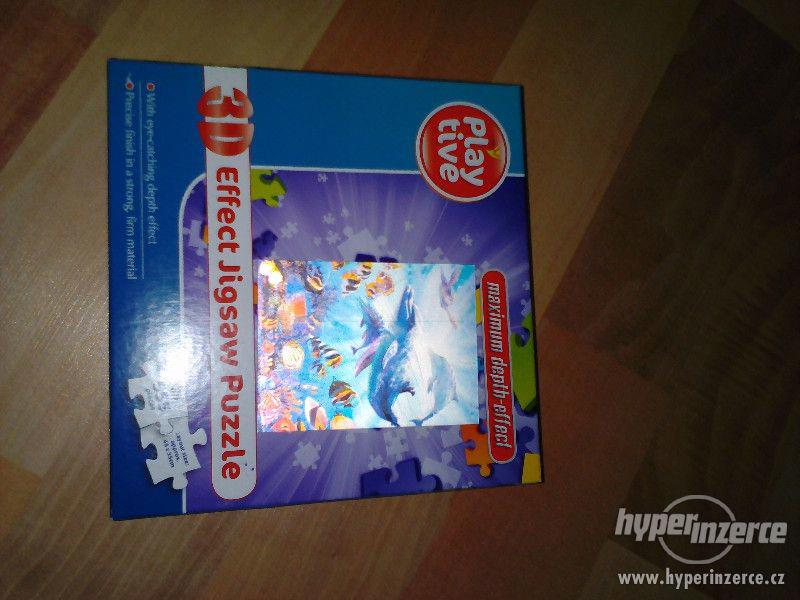 Puzzle 3D 555 dílků