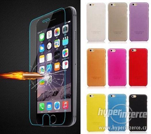 Tvrzené sklo+silikonový obal na iPhone 7/8/9/X/XR/XS/11/12 - foto 1