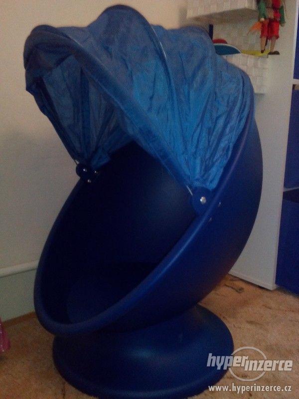 Dětské otočné křeslo Ikea - foto 1
