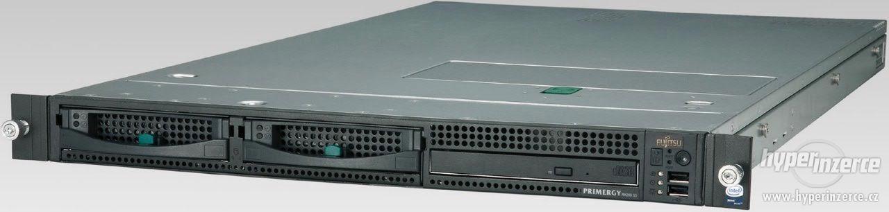 Záruka! 1U server Fujitsu Primergy RX200 S3 - 2×X5355, 32 GB