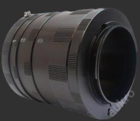Canon EOS makro mezikroužky manuální Kovové