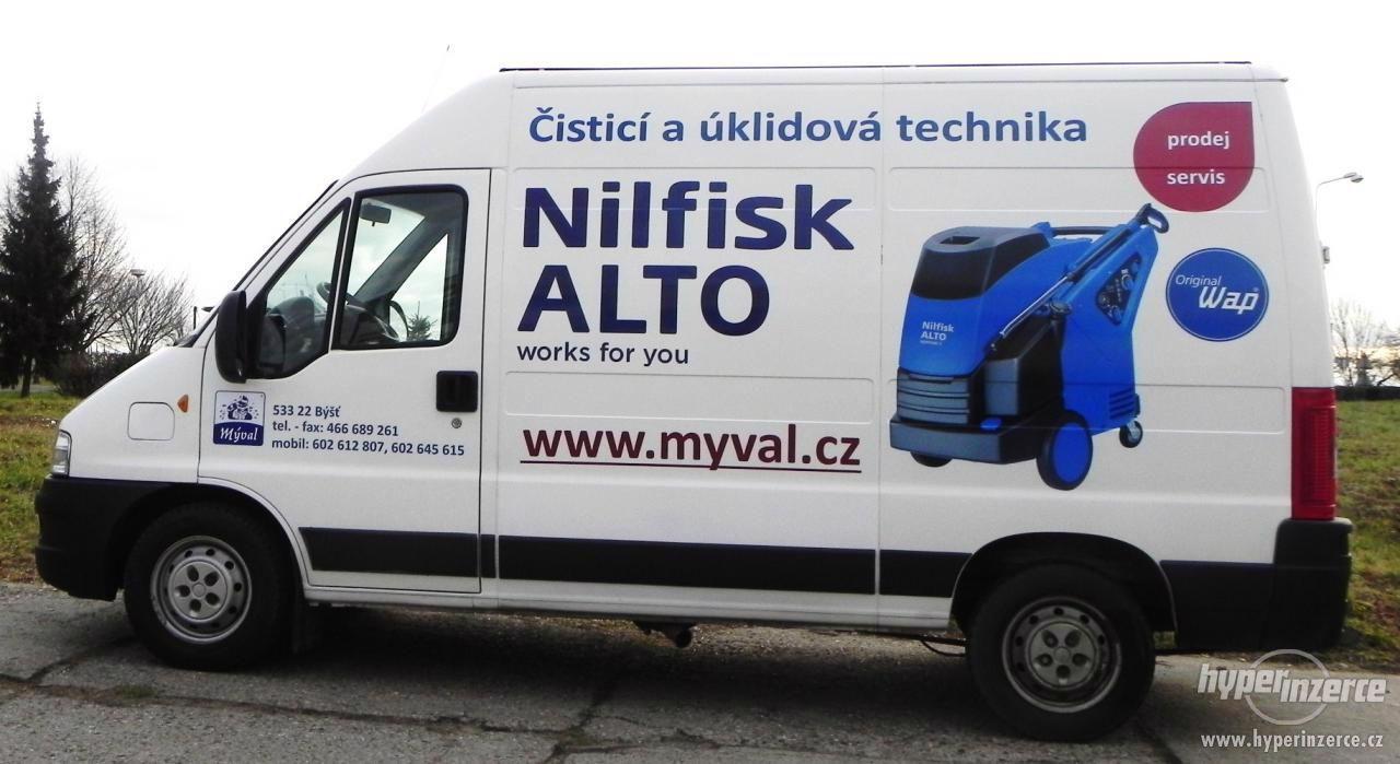 Servis a opravy Nilfisk Alto (dříve WAP) - foto 1