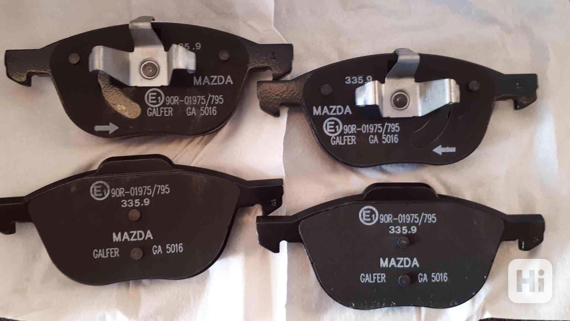 Brzdové destičky Mazda - foto 1