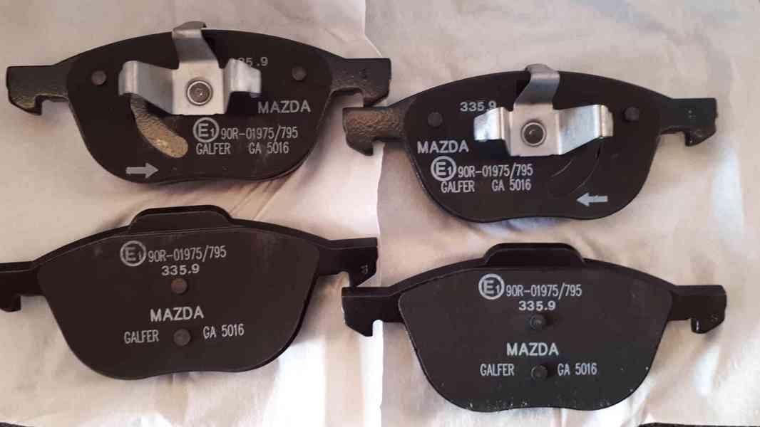 Brzdové destičky Mazda