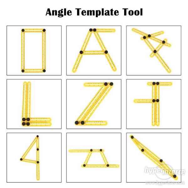 ABS šablona k nákresu atypických vyřezu / ORLOVÁ - foto 4