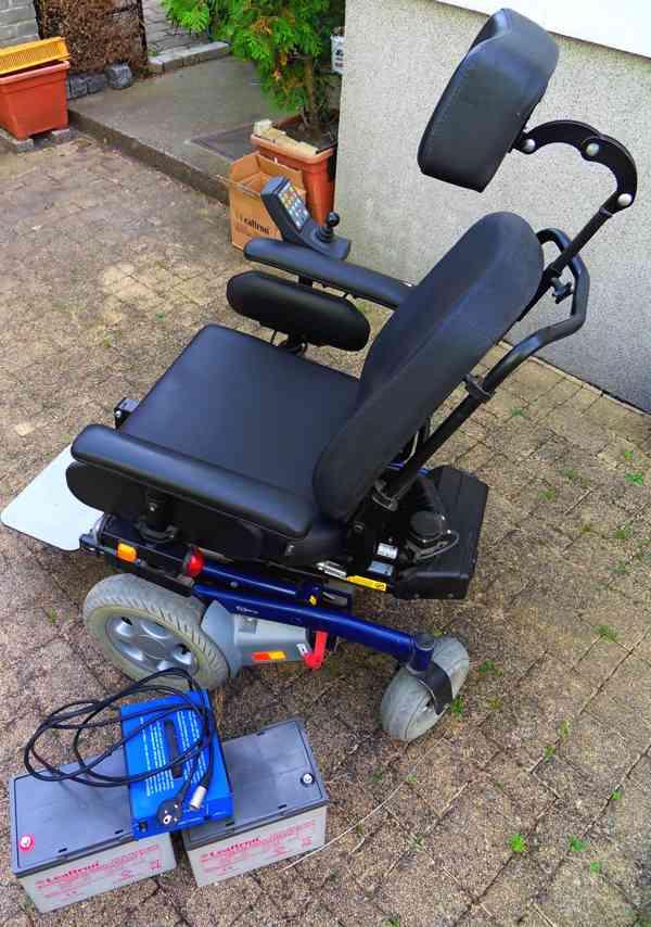 Elektrický invalidní vozík Puma YES