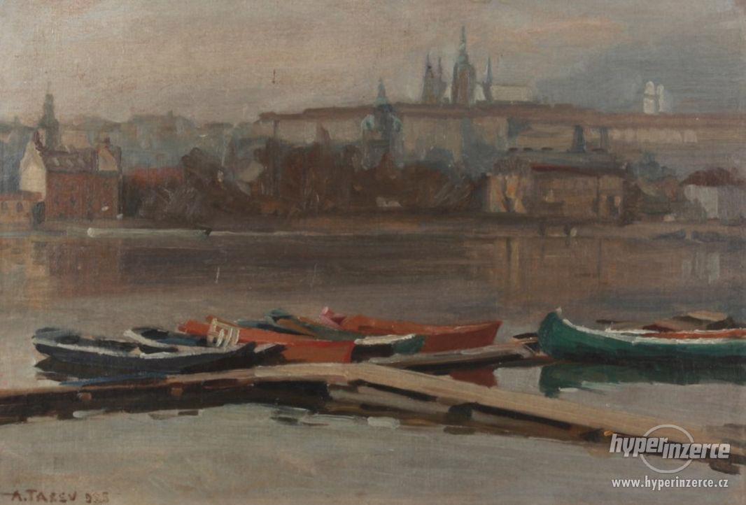 Koupím obrazy bulharských umělců-TASEV,MUTAFOV,DOBREV,,VESIN - foto 1