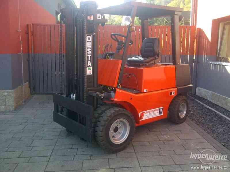 Vysokozdvižný vozík DESTA DV 25 A - foto 1