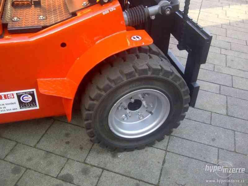 Vysokozdvižný vozík DESTA DV 25 A - foto 3