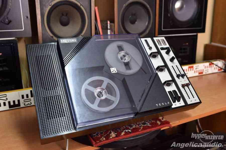 Tesla B 93 stereo - cívkový magnetofon