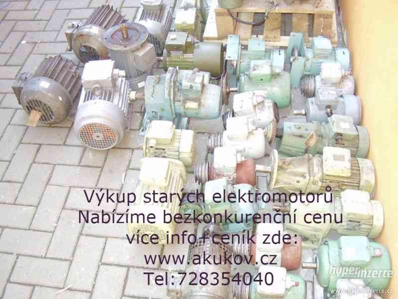 výkup elektromotorů Ostrava