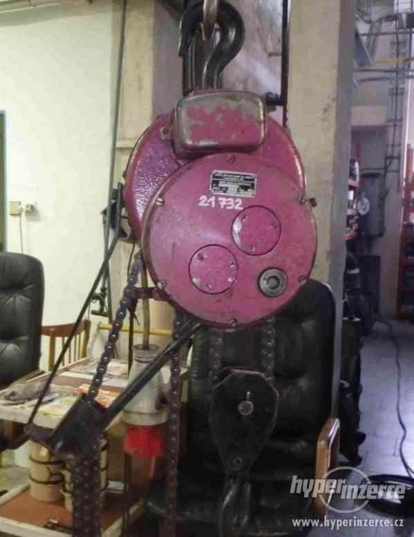 Elektrický kladkostroj - nosnost 250 kg (13388.) - foto 2