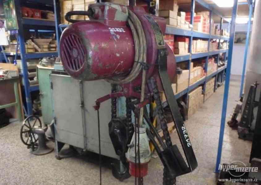 Elektrický kladkostroj - nosnost 250 kg (13388.) - foto 4