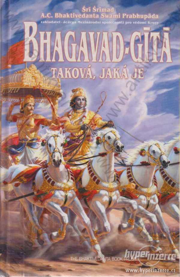 Bhagavad-gítá taková, jaká je Srí Srímad