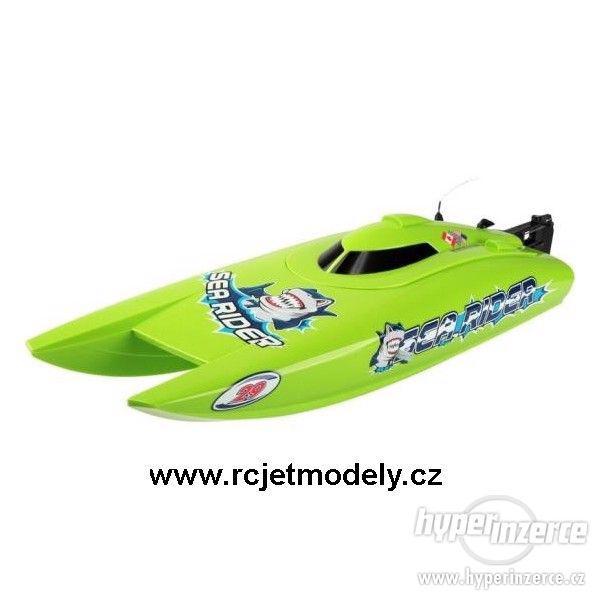 Ripmax Offshore Sea Rider Lite - RTR, RC rychlostní katamará
