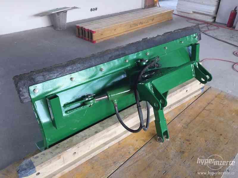 Přední hydraulická radlice / pluh na sníh, 160 cm - foto 2