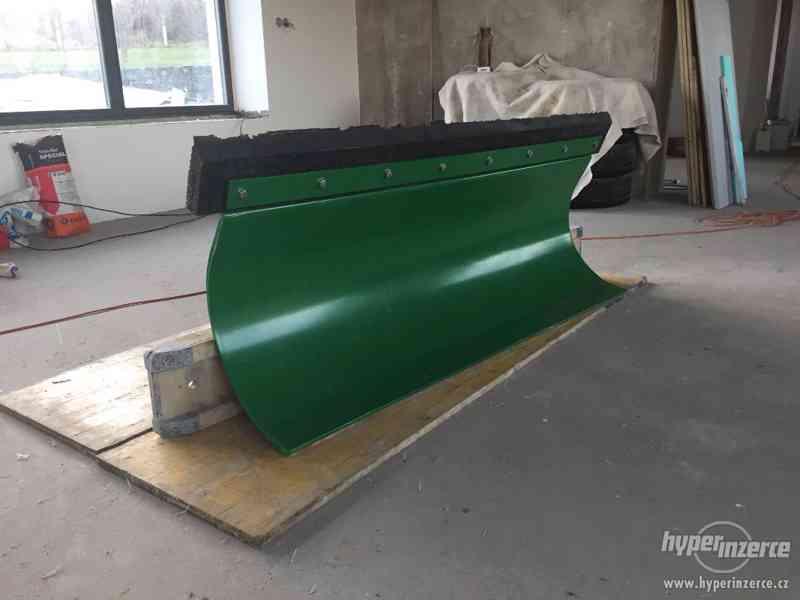 Přední hydraulická radlice / pluh na sníh, 160 cm - foto 3