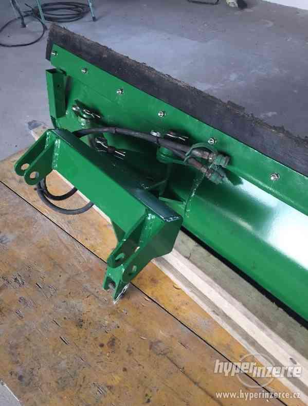 Přední hydraulická radlice / pluh na sníh, 160 cm - foto 4
