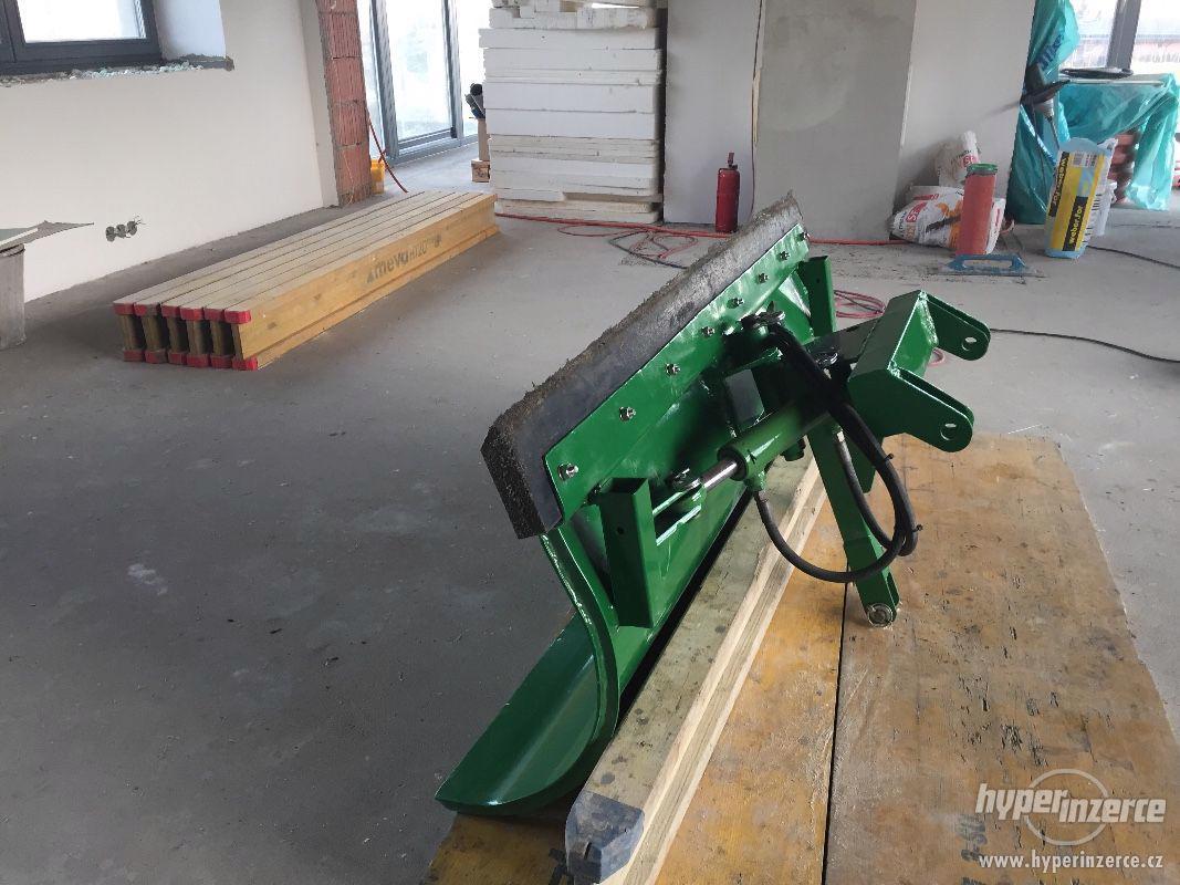 Přední hydraulická radlice / pluh na sníh, 160 cm - foto 1