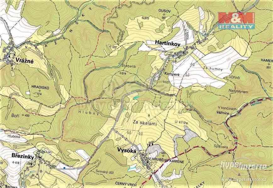 Prodej lesa, 420 m?, Vysoká u Jevíčka - foto 2